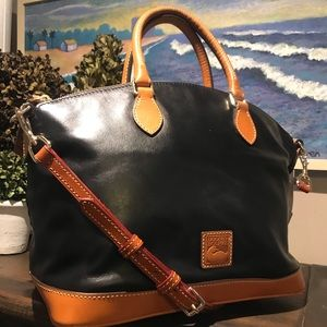 NWOT Dooney & Bourke Domed Satchel with Issue